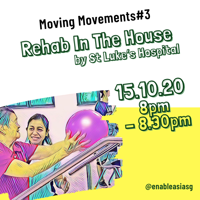 Moving Moments#3: Rehab In The House